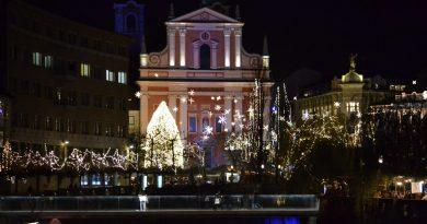 Ljubljana is again beautified, the lights are shining!