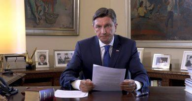 """Borut Pahor: """"Good luck, Slovenia. And luck is on the side of the brave. """""""