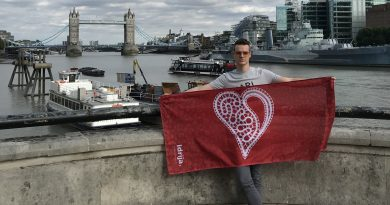 #VisitIdrija flag also in London!