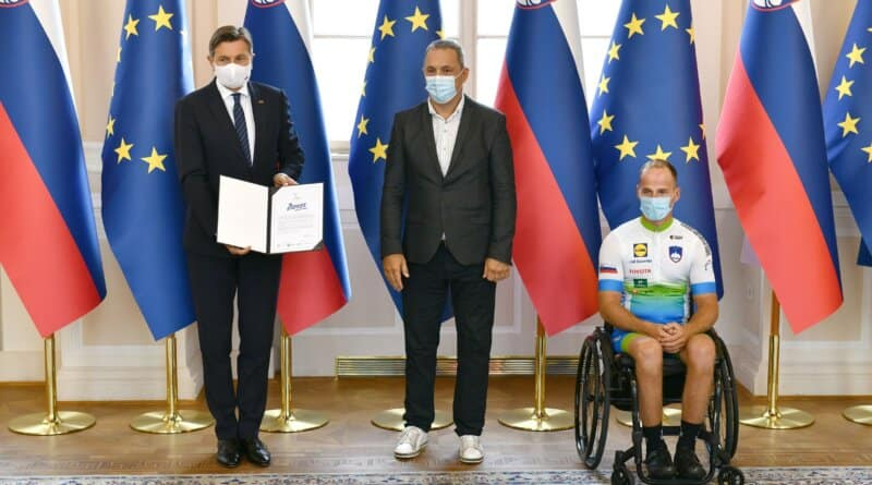 For the first time in Slovenia, we are celebrating Slovenian Sports Day