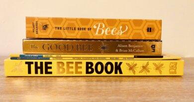 Naših top 5 knjig v angleščini na temo čebelarstva!